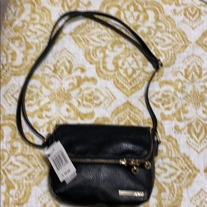 BNWT Kenneth Cole Reaction fold over mini in black